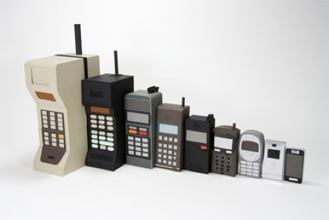 From 1G to 4G- Cell Phones Making Moves