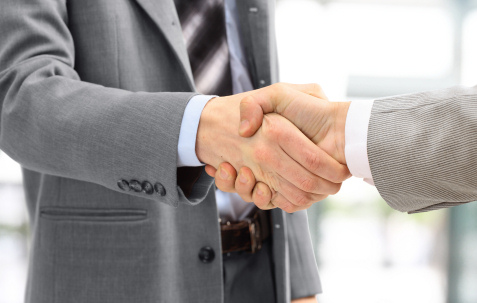 handshake in business